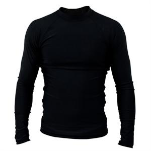 Clinch Gear Basic Black Rashguard - Long Sleeve